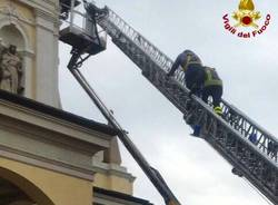 vigili del fuoco San Macario autoscala