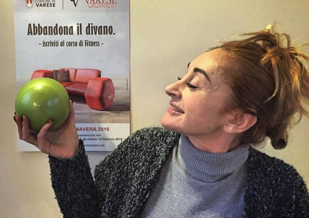 "Viviana Arcangioli, la ""signora del Pilates"" a VareseCorsi"