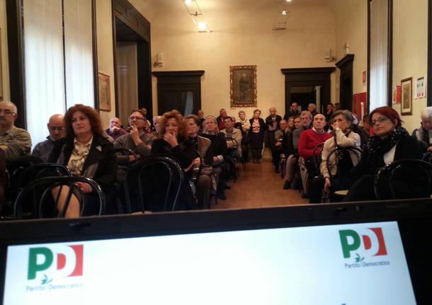 Assemblea del Partito Democratico a Saronno
