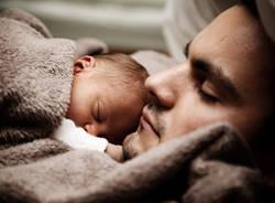 bambino con papà