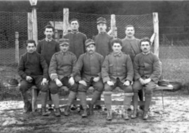 Prigionieri angeresi 1916 - Foto di Luciano Besozzi