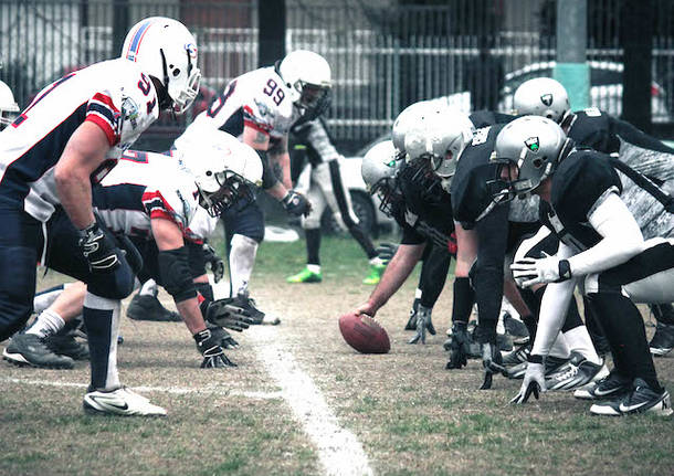 blue storms busto frogs legnano football