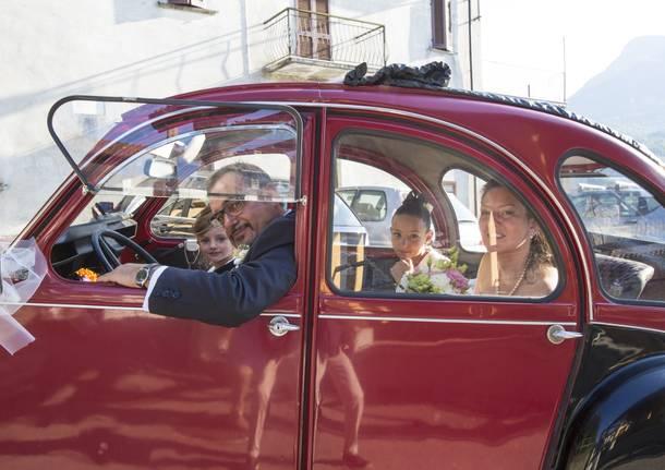 Paola e Gianni con Rebecca e Noemi