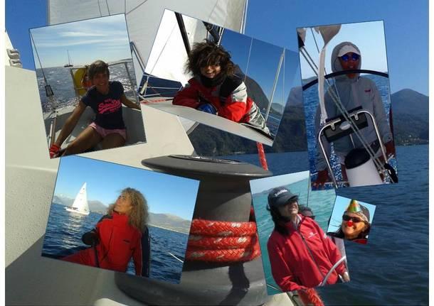 Equipaggio varesino alla Women\'s Sailing Cup di Chiavari dal 18 al 20 marzo