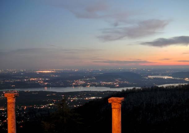 Crepuscolo al Sacro Monte