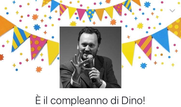 Buon compleanno Dino