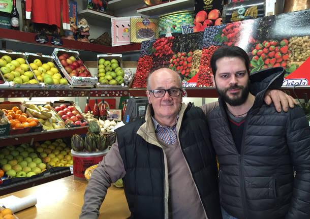 Claudio, il fruttivendolo di Valle Olona