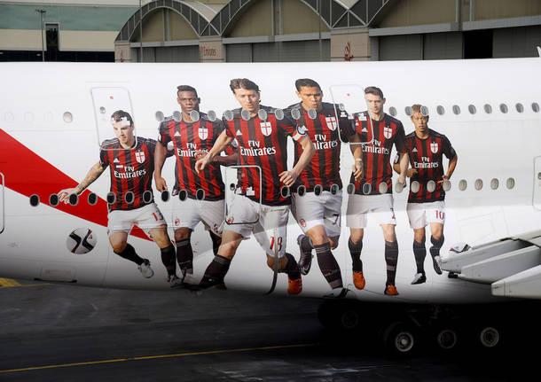 Emirates e Milan insieme