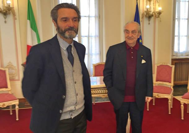 Firmato l'accordo tra comune e Marchesi per Villa Mylius