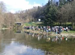 Gara di pesca per bambini a Besozzo