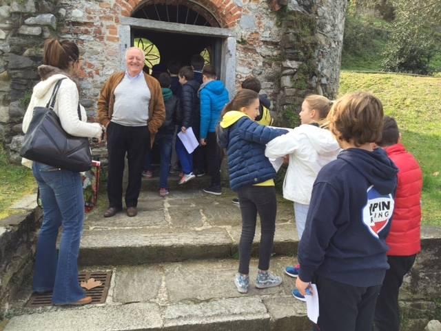 Giovani pensatori in visita a Cazzago Brabbia