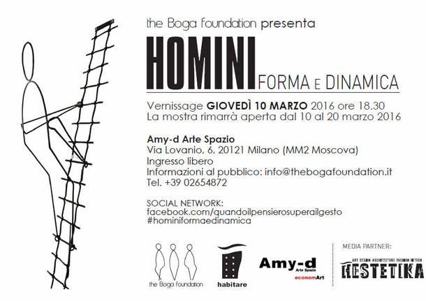 """""""Homini. Forma e Dinamica"""""""