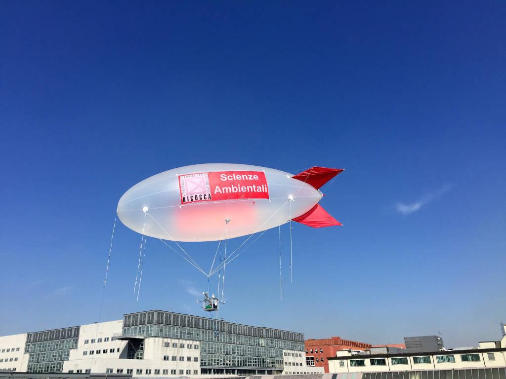 Il dirigibile contro l'inquinamento