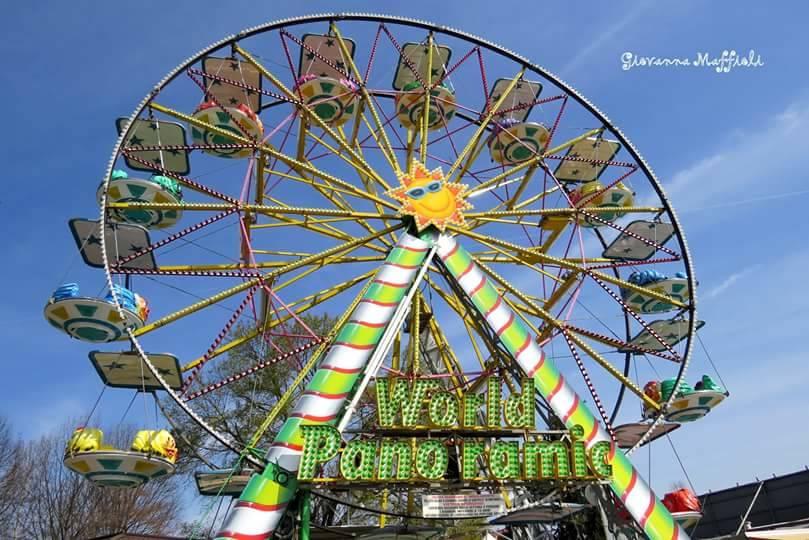 Il Luna Park alla Schiranna - foto di Giovanna Maffioli