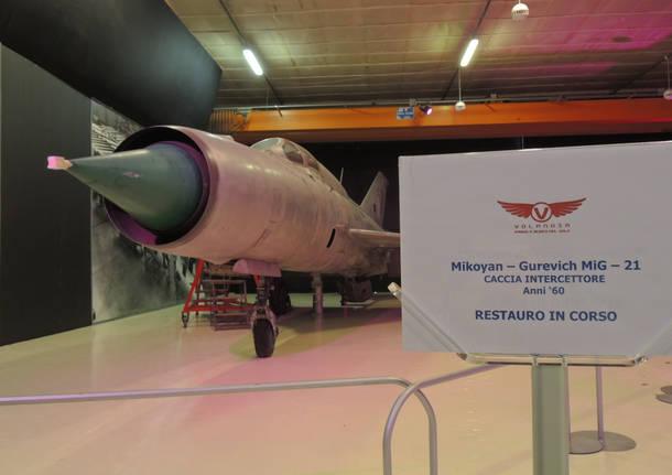 Somma Lombardo - Vizzola Ticino - Il museo del volo Volandia riapre il 22 maggio - Gallarate/Malpensa - Varese News