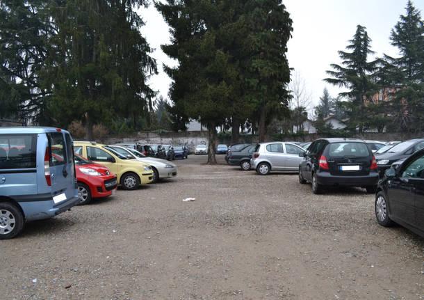 Il parcheggio della stazione FS