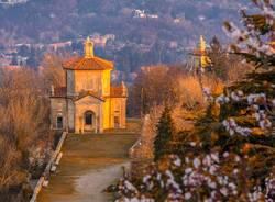 Il Sacromonte nei primi giorni di Primavera al tramonto
