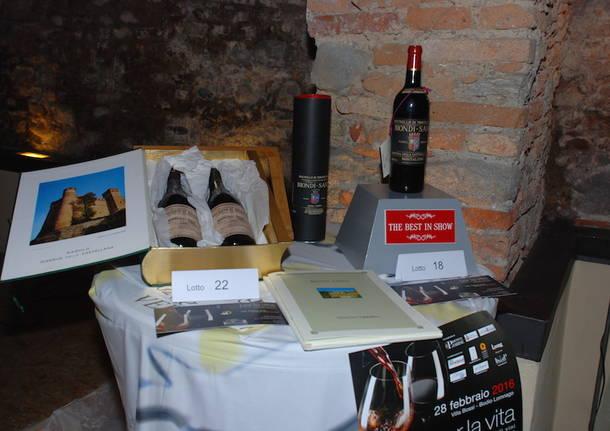 Il vino per la vita 2016