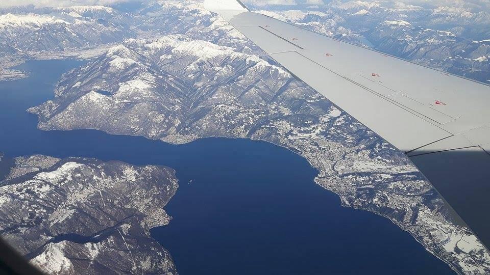 In volo - foto di Antonella Patrone