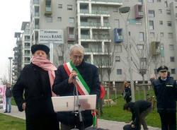 Inaugurato il giardino Franca Rame - foto di Dina Rebeschi