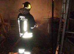 incendio deposito solbiate arno