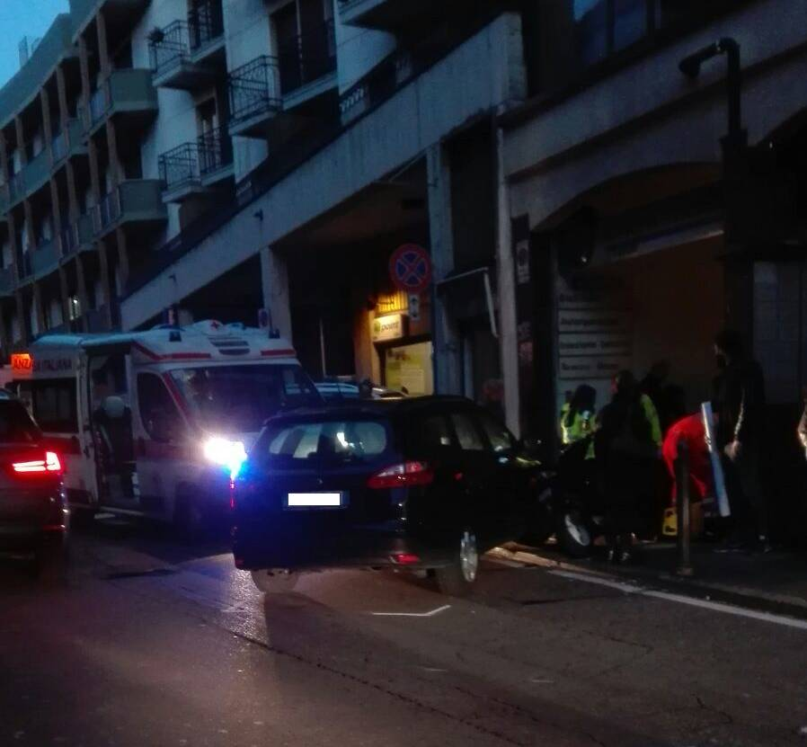 Incidente in via Morazzone a Varese