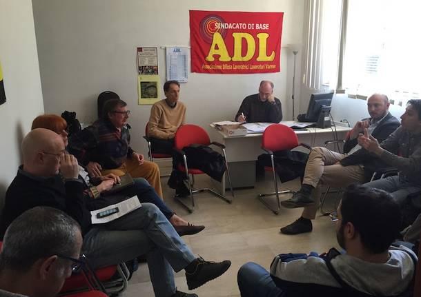 incontro m5s AdL finmeccanica