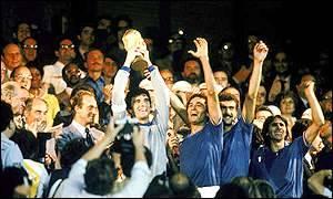 L'Italia campione del mondo 1982