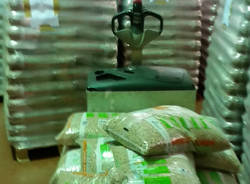La Guardia di Finanza sequestra oltre 87 tonnellate di pellet e 4 mila litri di gasolio