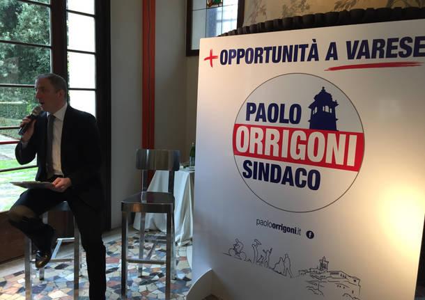 La lista Orrigoni