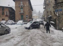 La neve imbianca il Varesotto