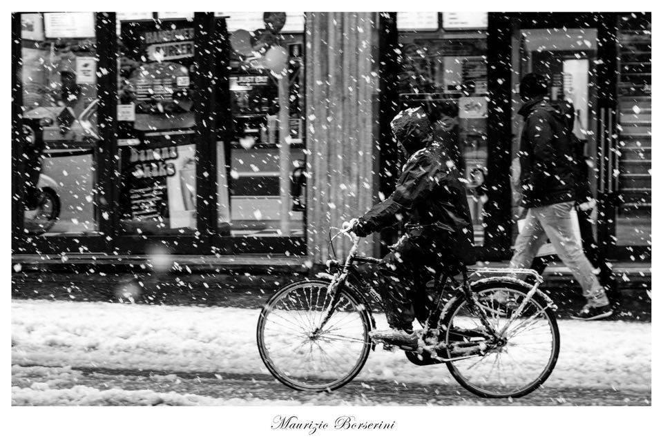 La poesia di una nevicata