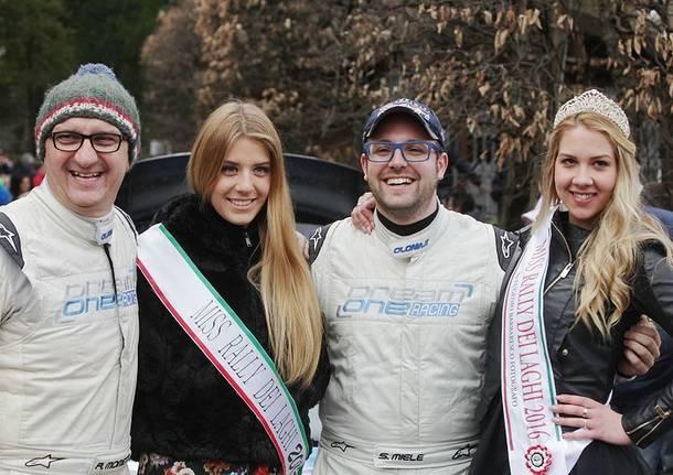 La premiazione del Rally dei Laghi