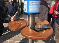 La torretta varesina per ricaricare tablet e cellulari