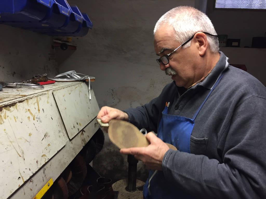 Lo Schuhmacher della Scarpa di Laveno Mombello