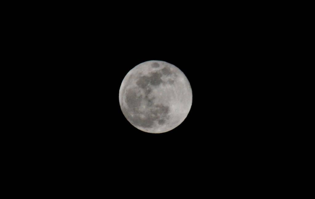 Lo spettacolo della luna