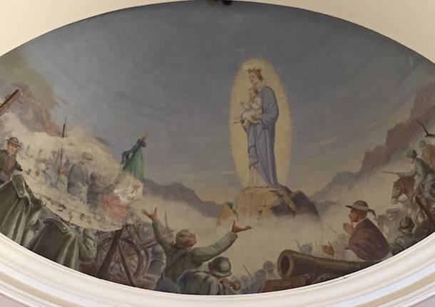 madonna dei soldati chiesa di gemonio