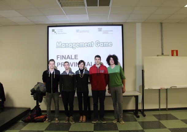 Management Game: vince l'oro provinciale il liceo Scientifico Curie di Tradate