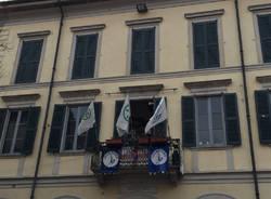 Orrigoni nella sede della Lega