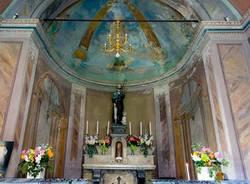 Panorama dalla chiesetta di San Rocco Sopra Maccagno e Passo della Forcora