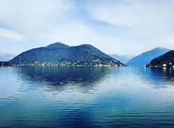 porto ceresio, il lago