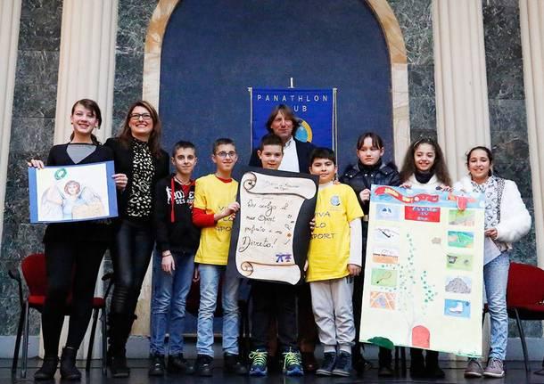 """Premiazioni concorso """"Diritti dei ragazzi e doveri dei genitori nello sport"""""""