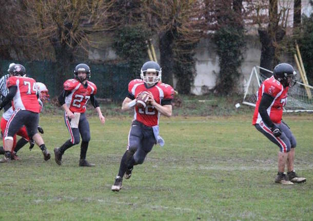 Skorpions Varese - Crusaders Cagliari 14-0 football americano