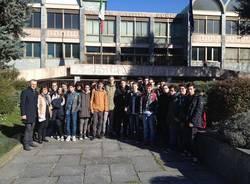 studenti in visita al tribunale di Busto Arsizio