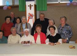 Suor Germana festeggia i 100 anni