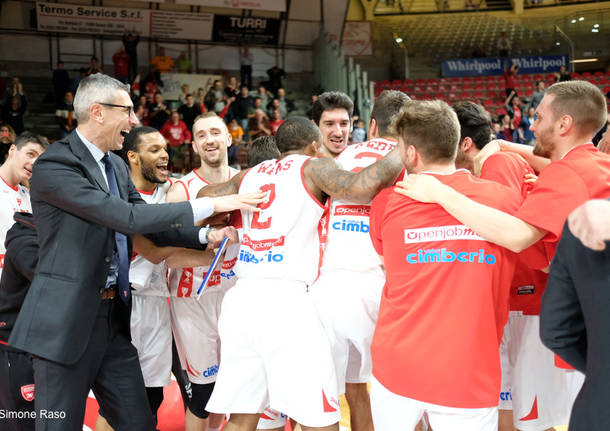 Varese Gaziantep festa biancorossa basket fiba europe cup