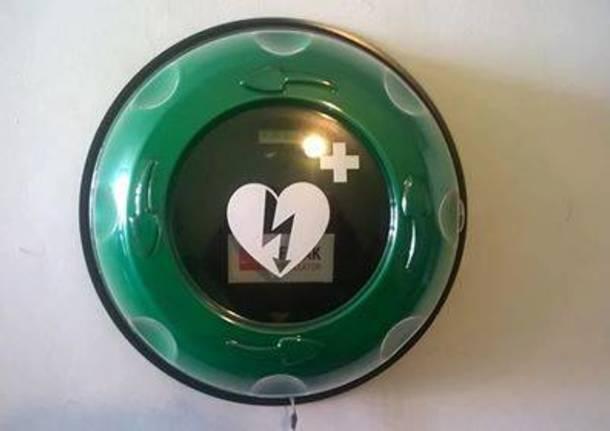 Vedano Olona - Nuovi defibrillatori