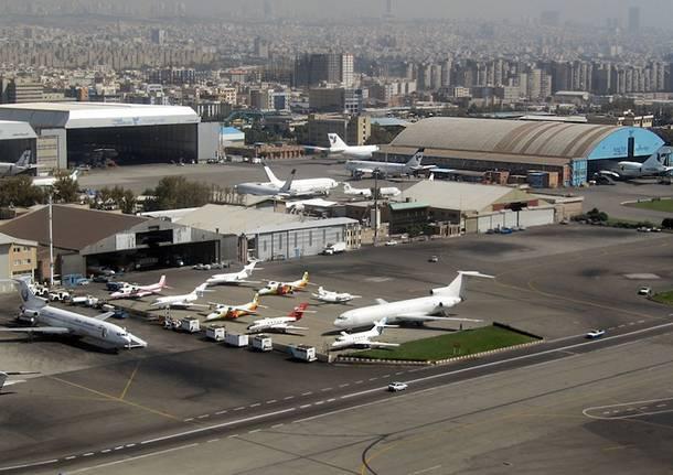 aeroporto Merabad Teheran