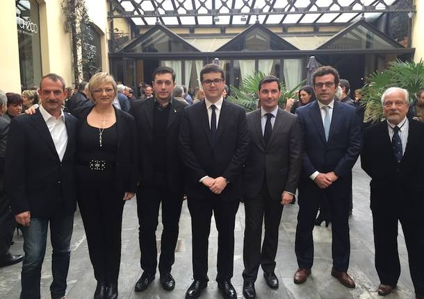 Andrea Cassani candidato centrodestra Gallarate