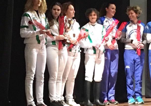 Campionato italiano squadre tiro con l'arco 2016 cam gallarate